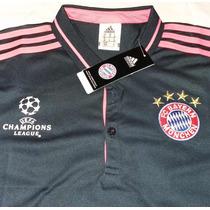 Camiseta Tipo Polo Bayern Münich Champions League 2015-2016