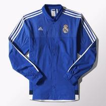 Real Madrid Talla Large Para Niños Chamarra Anthem Adidas