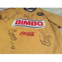 Camisa Autografiada Del América 2006