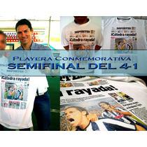 Playera Rayados Conmemorativa Del 4-1, Tela Dryfit Sublimada