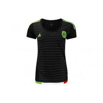 Jersey Mexico Dama 2015 Copa Oro.