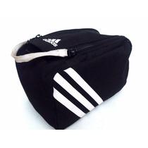 Adidas 3s Neceser Whaskit Deportivo Gimnasio Black & White