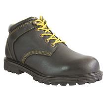 Zapato Industrial 8 Negro Negro Acero Ten-pac