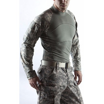 Camisa Militar Massif Camo Acu Talla L Nuevas Sin Etiquetas