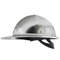 Casco Industrial Infra Aluminio Anodizado Suspension 4 Punto