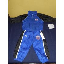 Mets Nueva York Juego Pants Original Majestic Niño 1 Año