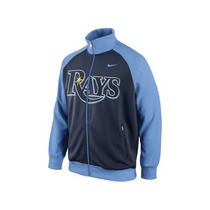 Nike Mlb Tampa Bay Rays Chamarra Track Jacket Nueva L