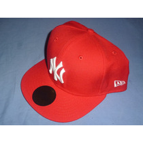 Excelente Gorra Oficial New Era New York Yankees Roja Vbf