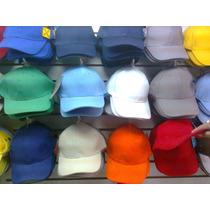 Gorras Varios Colores Ajustable Beisbolera P Docena Beisbol