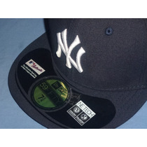 Gorra New Era Oficial De Juego New York Yankees
