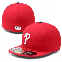 New Era 59fifty Phillies Mlb Gorra Beisbol Cerrada 7 3/8