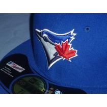 Gorra Oficial De Juego Toronto Blue Jays New Era