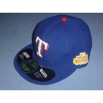 Gorra New Era 59 Texas Rangers Serie Mundial 2011