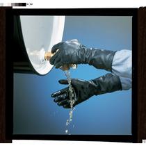 Guantes Resistente A Los Químicos Hule Negro 14 10