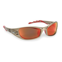 Gafas De Seguridad Espejo Rojo Anti-rayadura Gris Pardo 3m