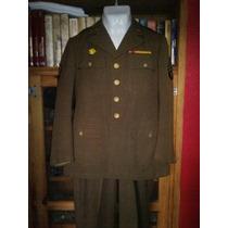 Uniforme De Sargento Americano Frente Pacífico Sgm Original