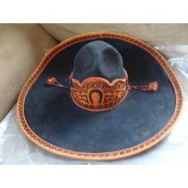 Sombrero De Charro Muy Bonito El Perimetro Es De 53cm, Creo