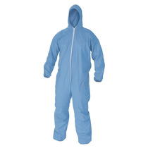 Overol Capucha Resistente A Químicos Azul 2xg Kleenguard