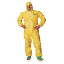 Overol Capucha Resistente A Químicos Amarillos Amarillo M