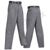 Pantalón Profesional Para Árbitro De Béisbol.100 % Poliéster