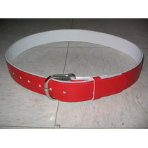Cinturon Beisbol Piel Varios Colores Y Tallas