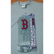 Playera Majestic Boston Red Sox Champions 2013 Mlb Adulto Ch