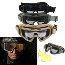 Googles Tacticos Fuerzas Elite Con Micas 100% Originales !¡!