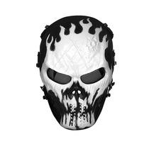Mascara De Gotcha Casco Mask Malla Metalica Blakhelmet Sp