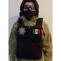 Chaleco Porta Placas Militar O Policiaco.