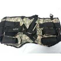 Arnes Tactico Gxg 6+1 Horizontal Acu Paintball! Gotcha!