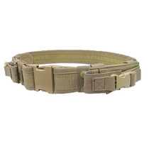 Cinturon Tactico Porta Cargadores Militar Airsoft Caceria