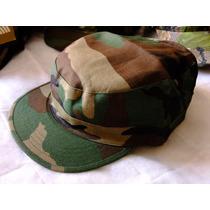 Cachucha / Gorra Estilo Militar, Camo Woodland. Fn4