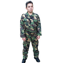 Uniforme Completo Militar Camu Woodland ¡envío Gratis!