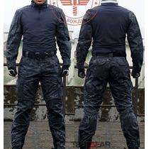 Uniforme Militar Profesional Typhon Rodilleras Coderas Inclu