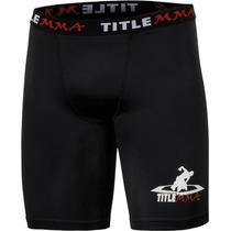 Licra/malla/short Para Mma Marca Title Boxing Con Concha Omm