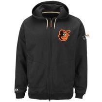 Baltimore Orioles Mlb Majestic Chamarra Con Logotipo