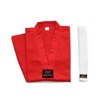 Dobok Champion Rojo Asiana Distribuidor Autorizado