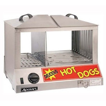 Maquina Exhibidora Para Hot-dog Vaporera Adcraft Hds Vv4