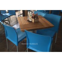 Mesa De Madera Restaurantes Cafeterias Y Bares