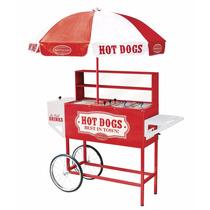 Carrito Exhibidor Hot Dog Comercial Nostalgia Op4