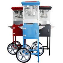 Maquina Palomitas Palomera Comercial 8 Onz Roja,azul,negra