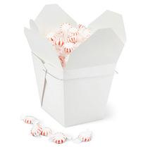 Paquete De 50 Cajas Blancas Para Comida China Con Asa 64oz