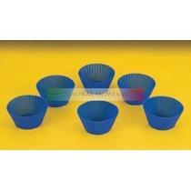 6 Moldes Flexibles De Silicona Para Hacer Panquecitos Hm4