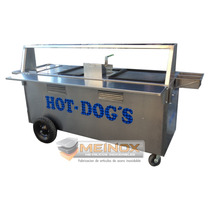 Carrito Para Hot Dogs Y Hamburguesas