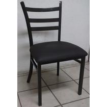 Silla Para Restaurante. Estructura Tubular Cuadrado.