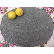 Plato De Piedra De Molcajete Unico En El Mercado Gourmet