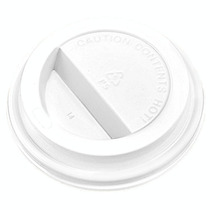 1000 Tapas Blancas Para Vaso Termico 8 Oz Cafe O Cafeterias
