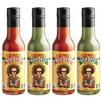 Salsa Gringo Bandito Hot Variety Pack 5 Onza (paquete De 4)
