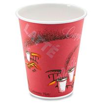 Caja Con 1000 Vasos Termicos Para Cafe O Cafeterias De 8 Oz