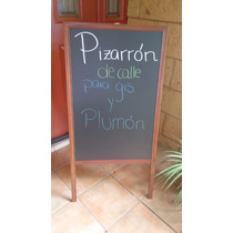 Pizarron Negro Para Cafeteria